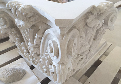Indiana Limestone Custom Carving Sculptures