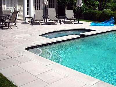 Indiana Limestone Pool Coping