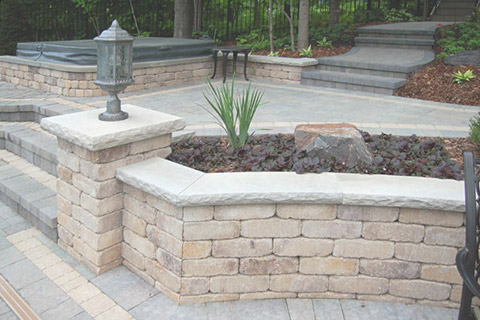 Indiana Limestone Wall Caps
